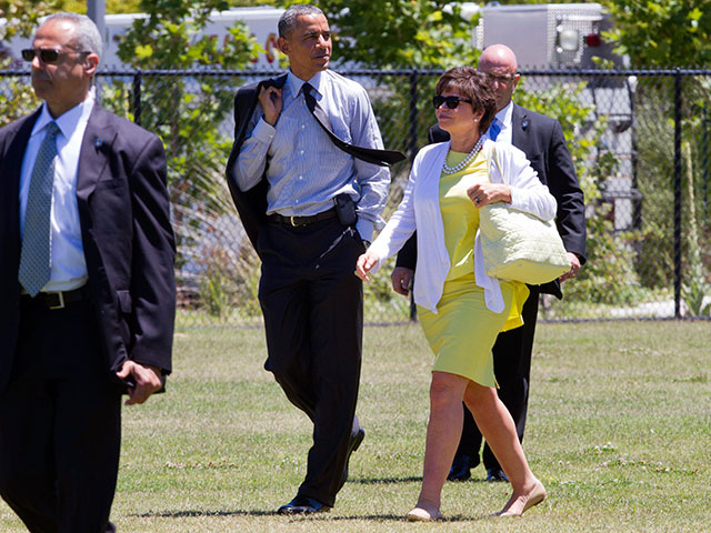 Obama's Labor Day Weekend: Three Fundraisers and an MSNBC Wedding
