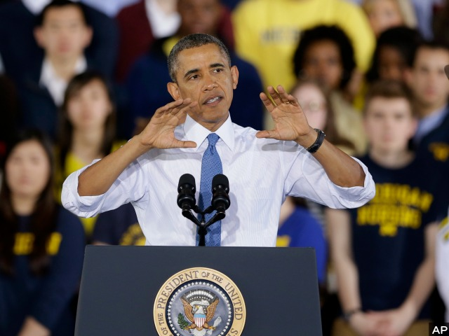 Obama Tells Michigan U Grad 'Now Is the Time, Go to France'