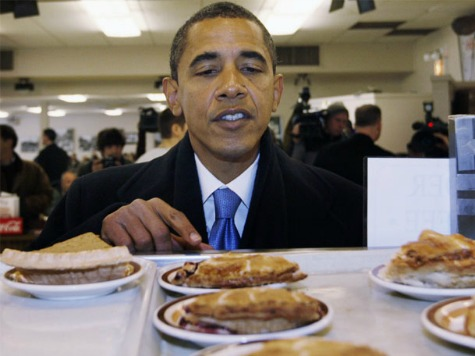 Obama Thanksgiving: Six Kinds Of Pie!