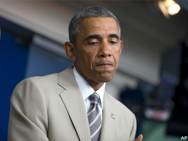 Obama Visits Hospital for Sore Throat, Acid Reflex Blamed