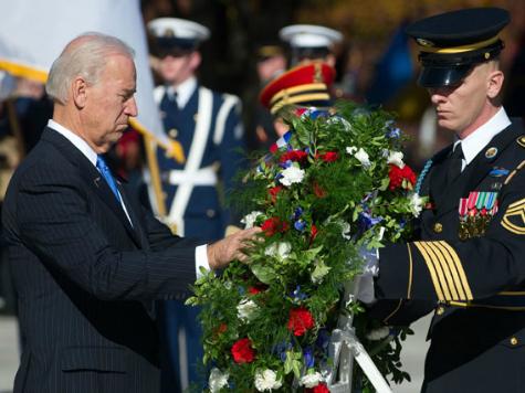 Vice President Biden Admits U.S. 'Lagging' on Veterans' Care