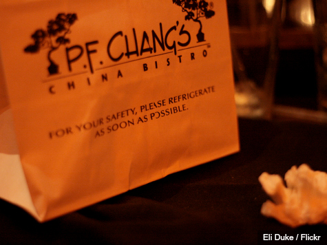 Customer Data Stolen from P.F. Chang's