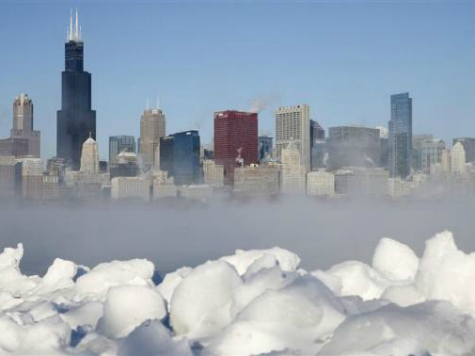 Obama Launches Global Warming 'Toolkit' as Nation Freezes