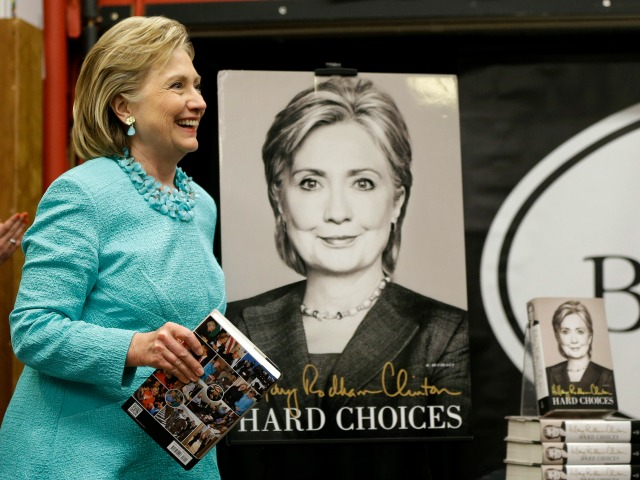 Hillary Clinton's Memoir Receives No Chinese Publishing Contract