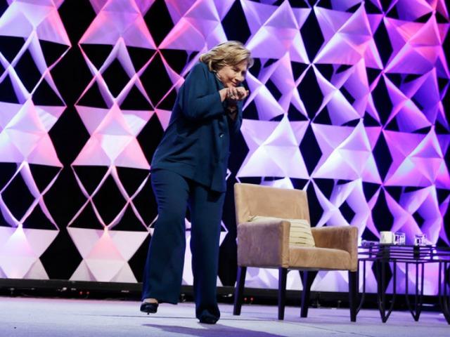 Woman Throws Shoe at Hillary Clinton During Las Vegas Speech