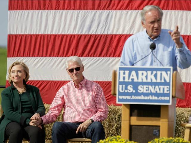 Hillary Clinton Silent on Sen. Tom Harkin's Controversial ISIS Remarks