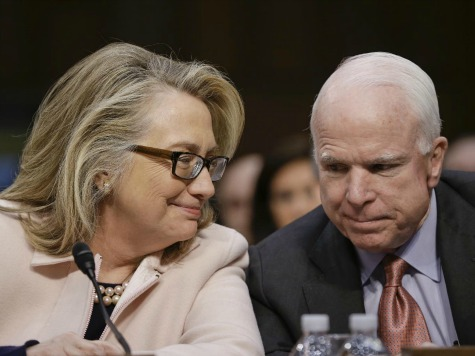 Hillary Clinton: John McCain My Favorite Republican