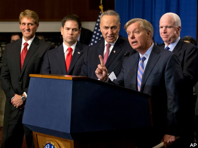 Gang of Eight Republicans Discourage Obama Against Executive Amnesty