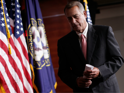 Boehner Drops 1,603-Page Omnibus Spending Bill, Securing Future Of Obama's Amnesty