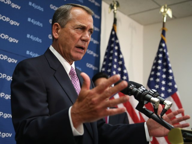 John Boehner on Amnesty: 'I Want to Get It Done'