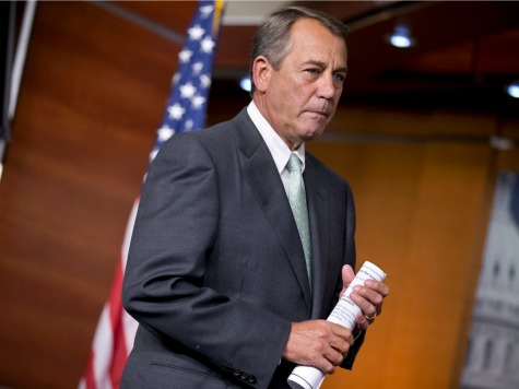 August Recess Delayed as Boehner Tries to Resuscitate Dying Border Bill