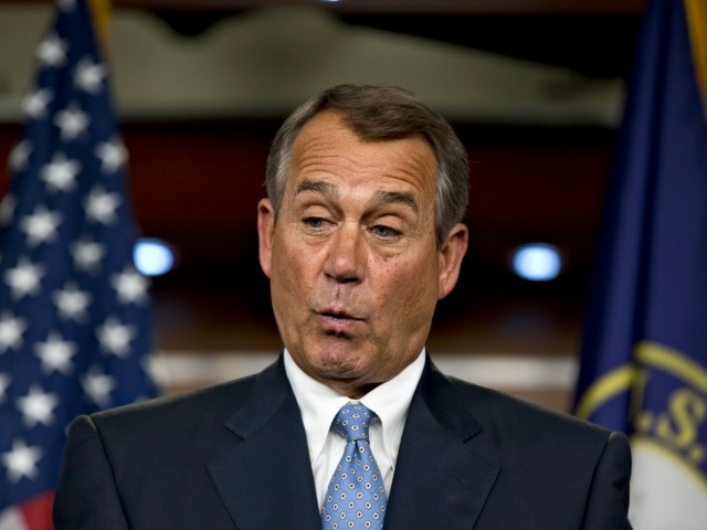 Boehner Omits Immigration from Lawsuit Against Obama's 'Unilateral Actions'