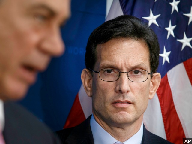Eric Cantor Primary Loss a Referendum Against Amnesty