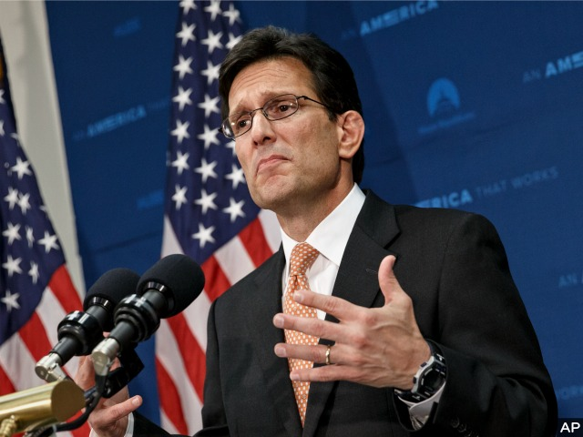 Eric Cantor Announces Exit; Asks Republicans to Put Aside Differences