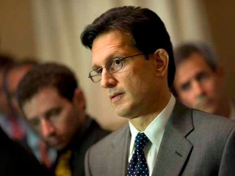 Eric Cantor: 'I Don't Think That I Want to Be a Lobbyist'