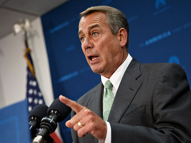 Report: Boehner Promised Latino Group Amnesty Legislation Last Year
