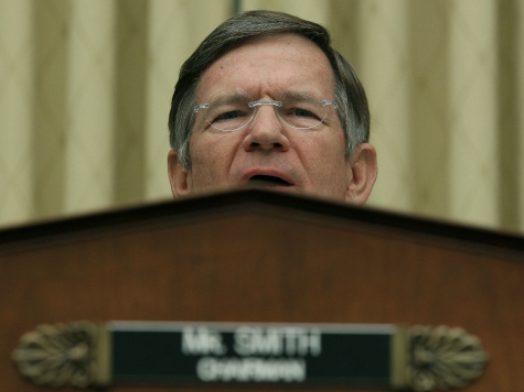 Texas Rep. Lamar Smith: Not 'a Single Penny' to Obama Until He Secures Border