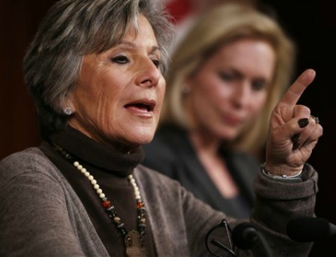 Dem Senator Barbara Boxer Introduces Bill to Allow Gun Confiscation from 'Unstable' People