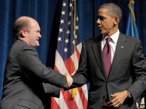 Democrat Senator Chris Coons Blames Obama for Ukraine