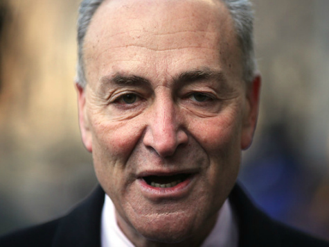 Chuck Schumer: Tea Party Opposes Immigration for Making America 'Less White'