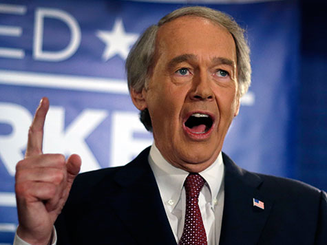 Sen. Ed Markey Wants $10 Million Per Year to Treat Guns Like Disease at CDC
