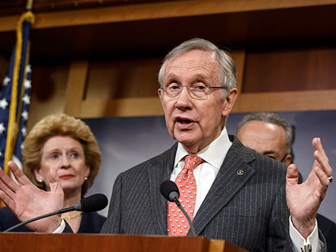 Harry Reid: Working with Republicans Like Wrestling a 'Greasy Little Pig'