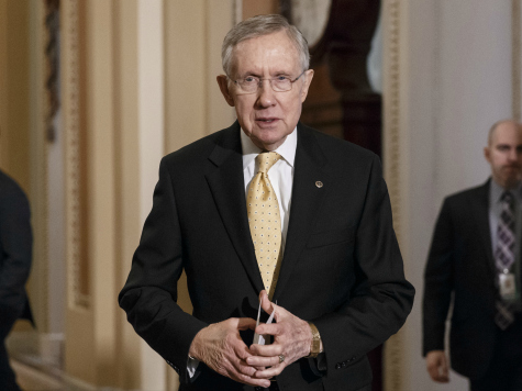 Harry Reid: We'll Attach Senate Amnesty Bill to House Border Bill