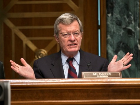 En Route To China, Baucus Cuts Fat Check To DSCC