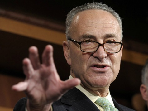 Schumer: We'll Have Amnesty in 2014 Thanks to Liberal Republicans