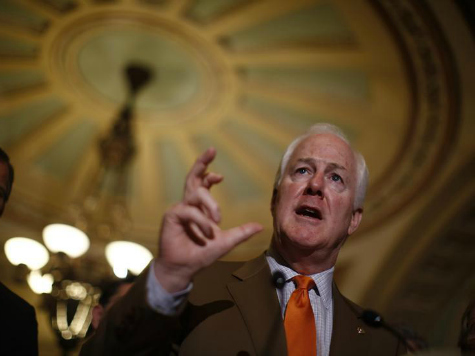 Exclusive: John Cornyn Rips Chuck Schumer's Media 'Shield Law'