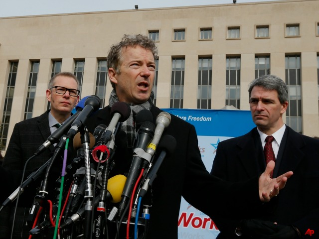 Rand Paul Files Class Action Lawsuit Against Obama, NSA, FBI over Spying