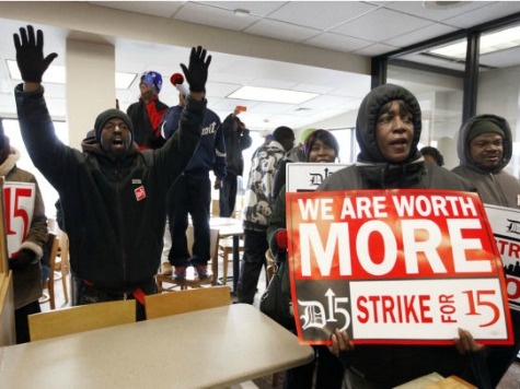 Study: 38% of Minimum-Wage Employers Will Fire Workers If Minimum Wage Reaches $10.10