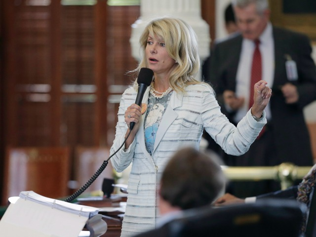 Wendy Davis Says She Supports Late-Term Abortion Ban