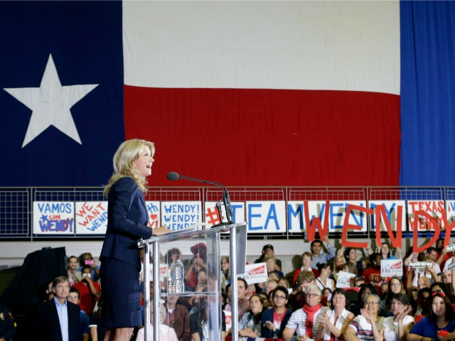 Wendy Davis Says Texas Not a Red State