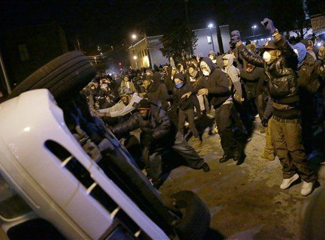 44 People Arrested During Another Night of Protests in Ferguson