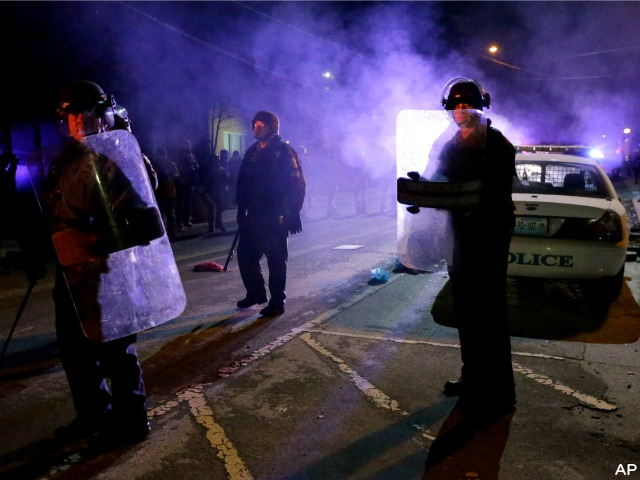 Elderly Man with Oxygen Tank Run Over by Ferguson Thieves