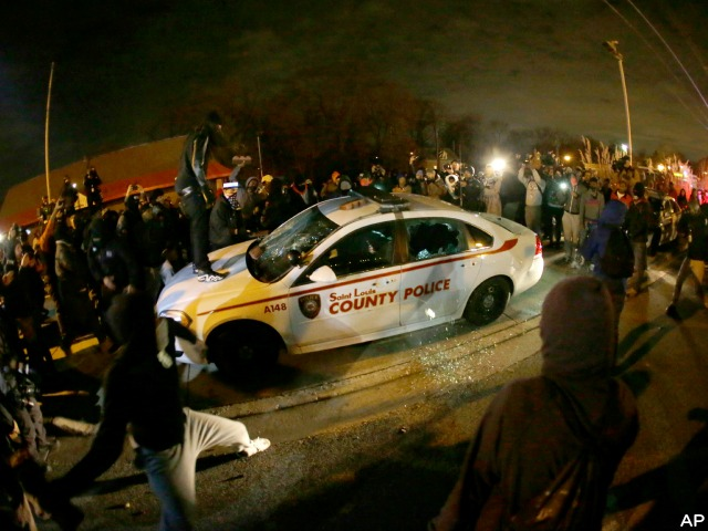 St. Louis Police: Automatic Rounds Fired in Ferguson