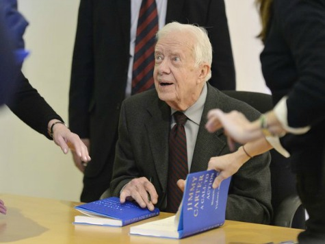 Jimmy Carter Critical of Obama Policy in Middle East