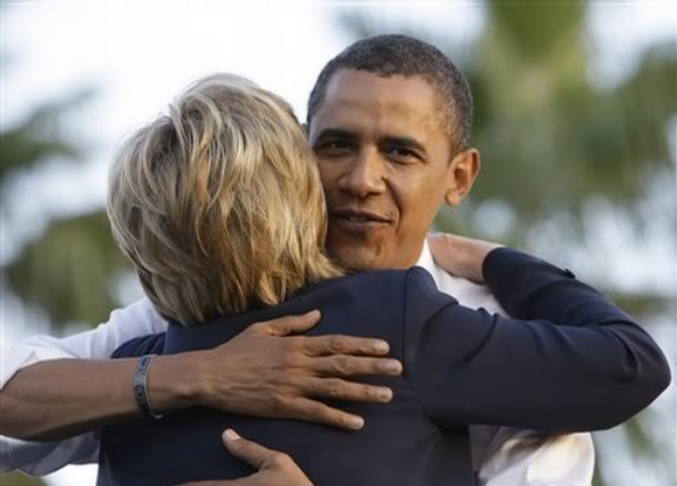 White House: Obama and Hillary Have a History of Hugs