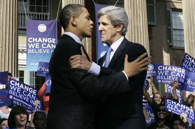 Obama and Kerry Seek to Reassure Europe on American Relevance