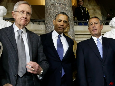 Senate Democrats Angle for Entire Gang of Eight Bill After Boehner Caves