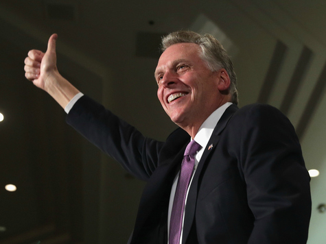 Terry McAuliffe Formally Pushes DREAM Act, Medicaid Expansion