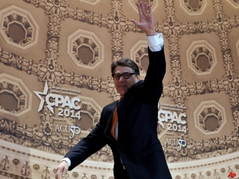 Rick Perry Calls for Return to Federalism Led by Red States