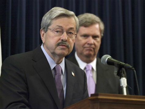 Iowa Gov. Terry Branstad to Feds: Don't Dump Illegals in My State