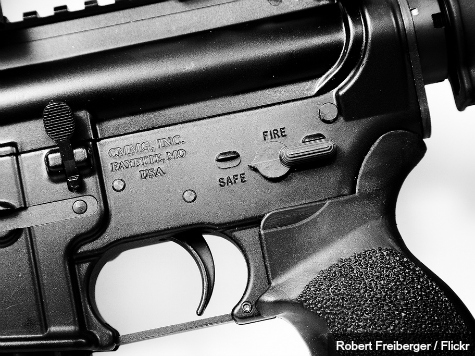 Pastor Places AR-15 in Front of Altar During Gun Giveway