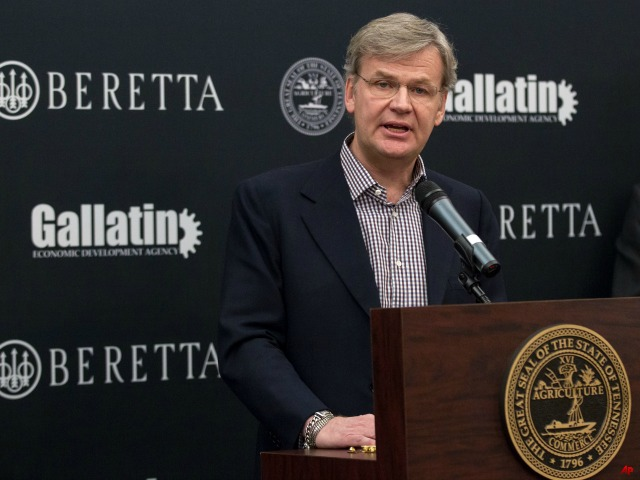 Beretta USA Chooses Tennessee for New Factory Site