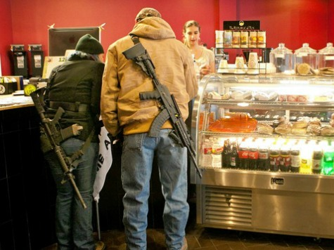 Restaurant Owner: Business Up With 'Guns Are Welcome' Sign On Front Door