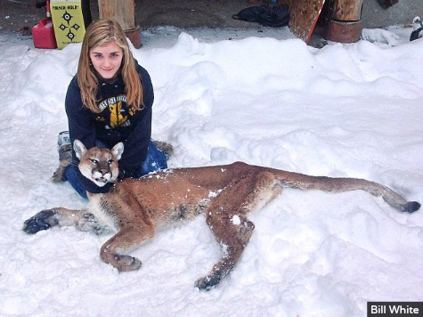 11-Year Old Girl 'Wasn't Scared a Bit' When She Shot Cougar to Save Brother