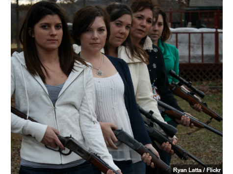 Record Number of Real Moms Demand Guns