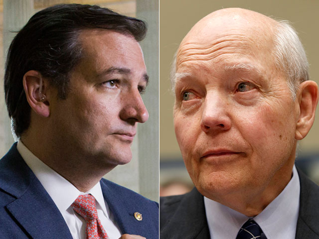 IRS Stonewalls Cruz Investigation; Cruz Threatens Subpoena Come January